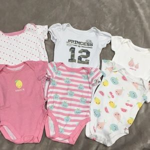 3 to 6 months baby girl clothing lot